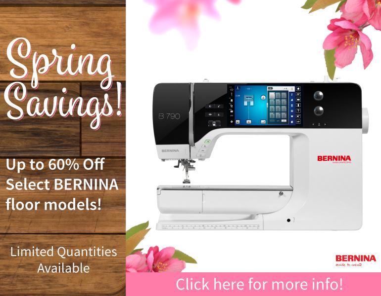 BERNINA Spring Savings
