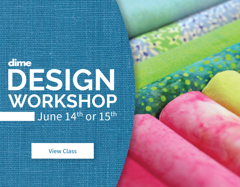 Upcoming Event from Designs in Machine Embroidery