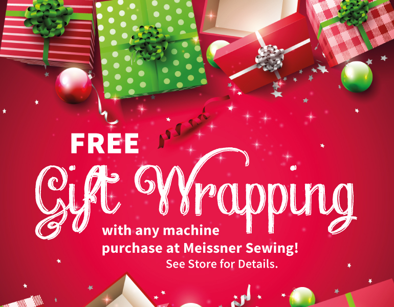 Free Gift Wrapping with Purchase