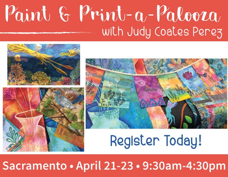 Judy Coates Perez Paint a Palooza