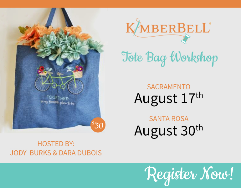 Kimberbell Tote Bag Workshop