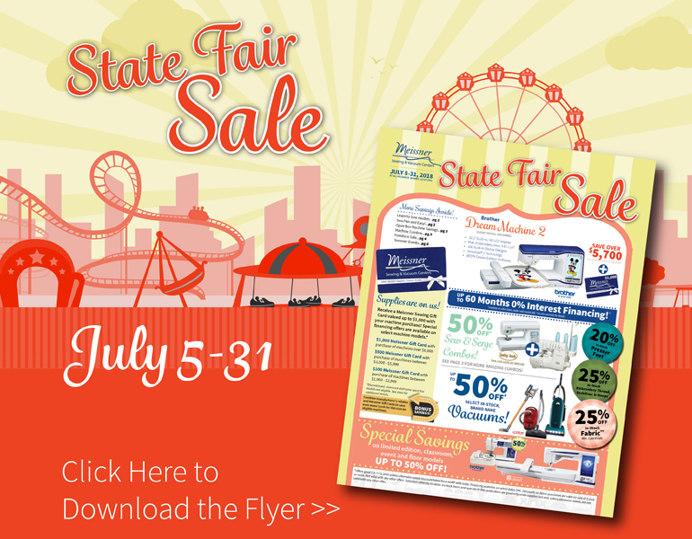 State Fair Sales Event