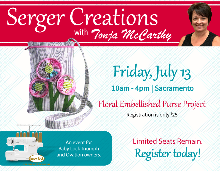Serger Creations with Tonja McCarthy
