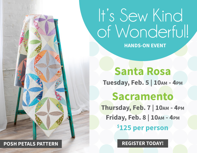 Sew Kind of Wonderful event