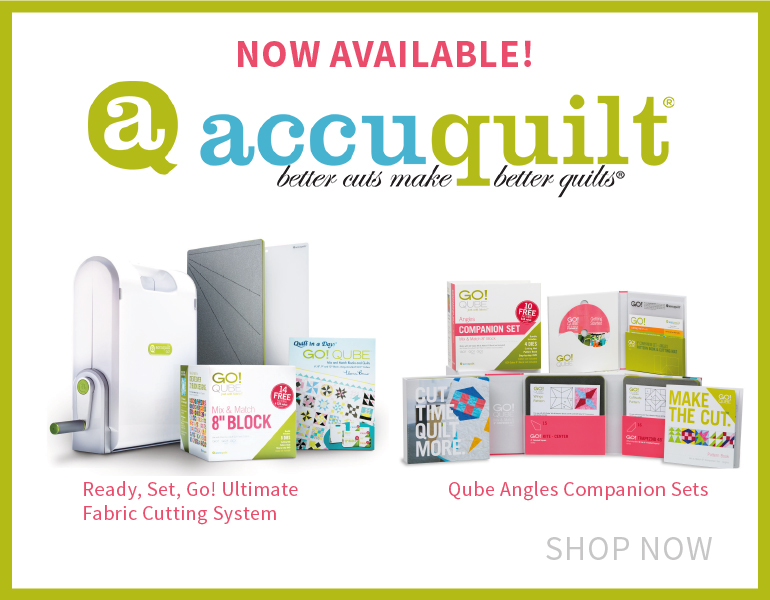 Accuquilt New Products