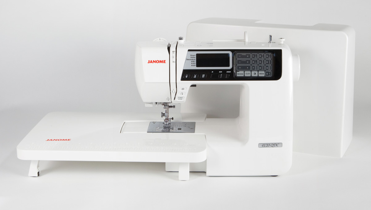 Janome 4120QDC Extension Table and Case