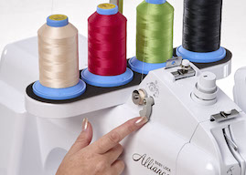 Quick-Set, Built-in Bobbin Winder