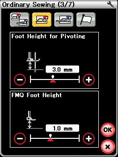 Auto Presser Foot Lift