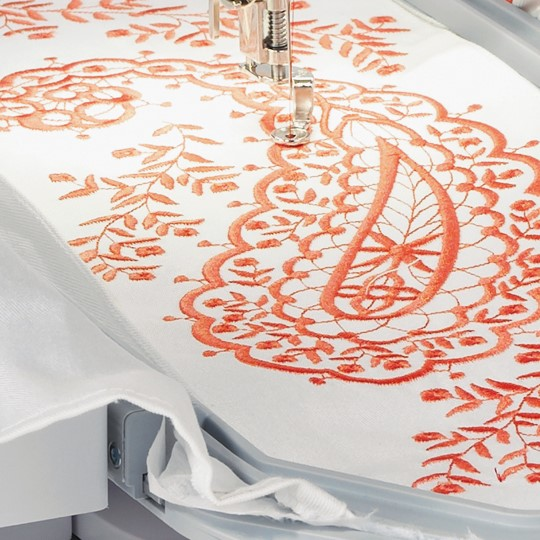 Beautiful Embroidery Is Simplicity Itself