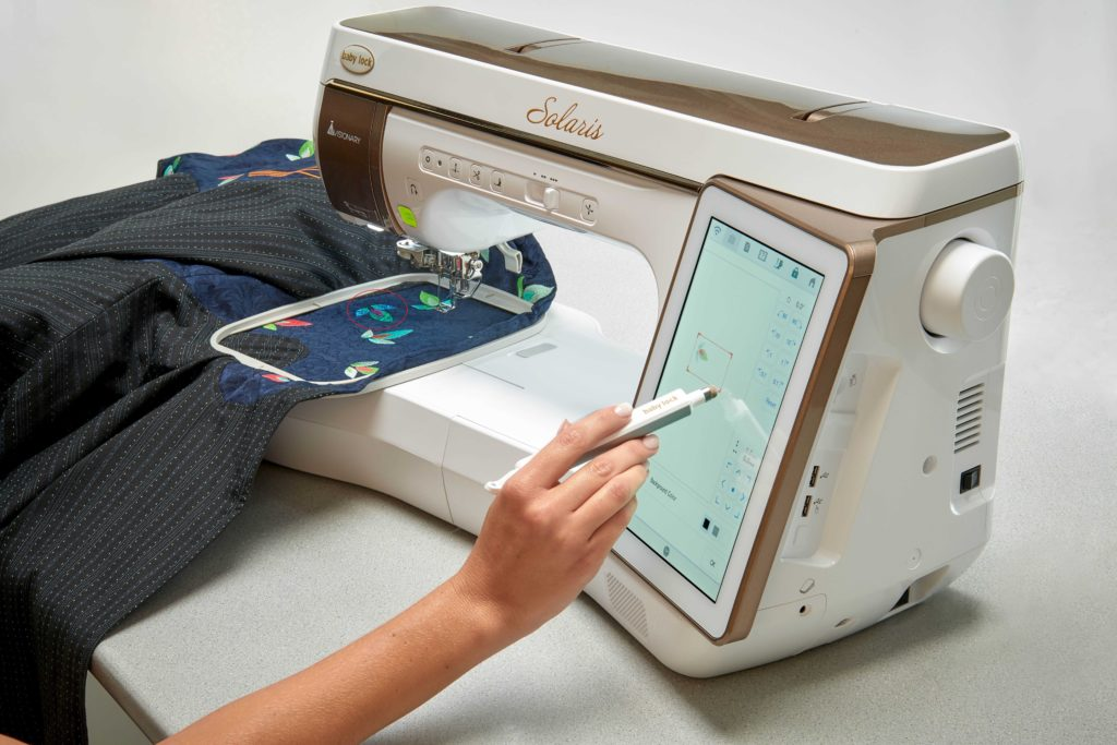 Baby Lock Solaris Sewing Quilting Amp Embroidery Machine
