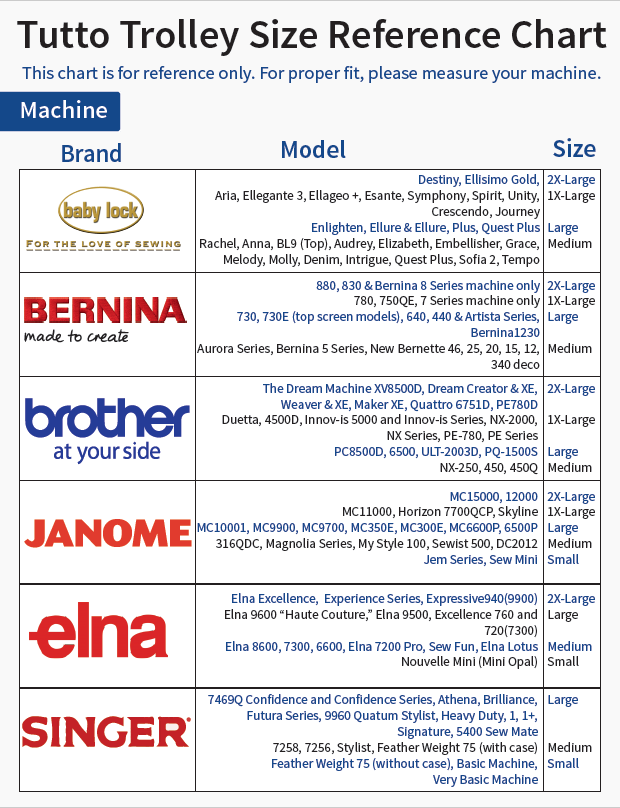 Vendor reference guides meissner sewing tutto negle Image collections