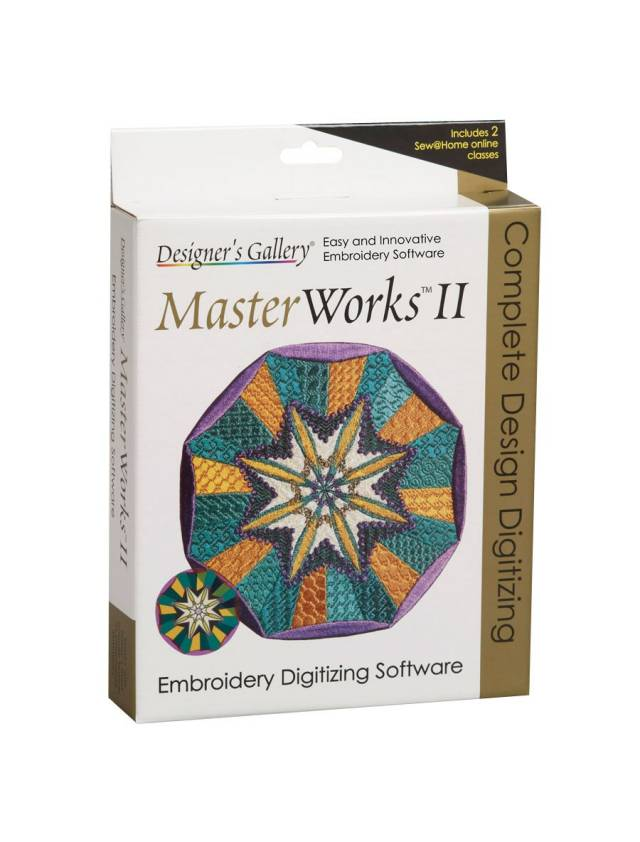 Baby Lock Designer S Gallery Master Works Ii Embroidery Digitizing Software Meissner Sewing